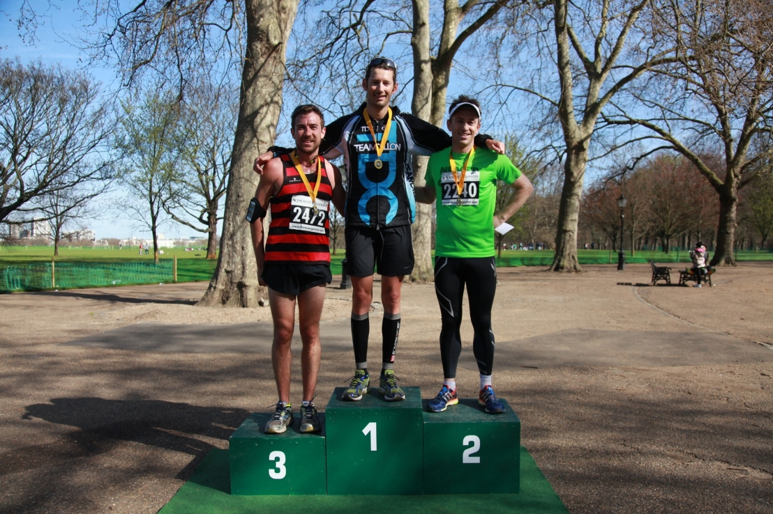 Hyde Park 10km with Stuart Hayes (Competed in London 2012 Olympic Triathlon)