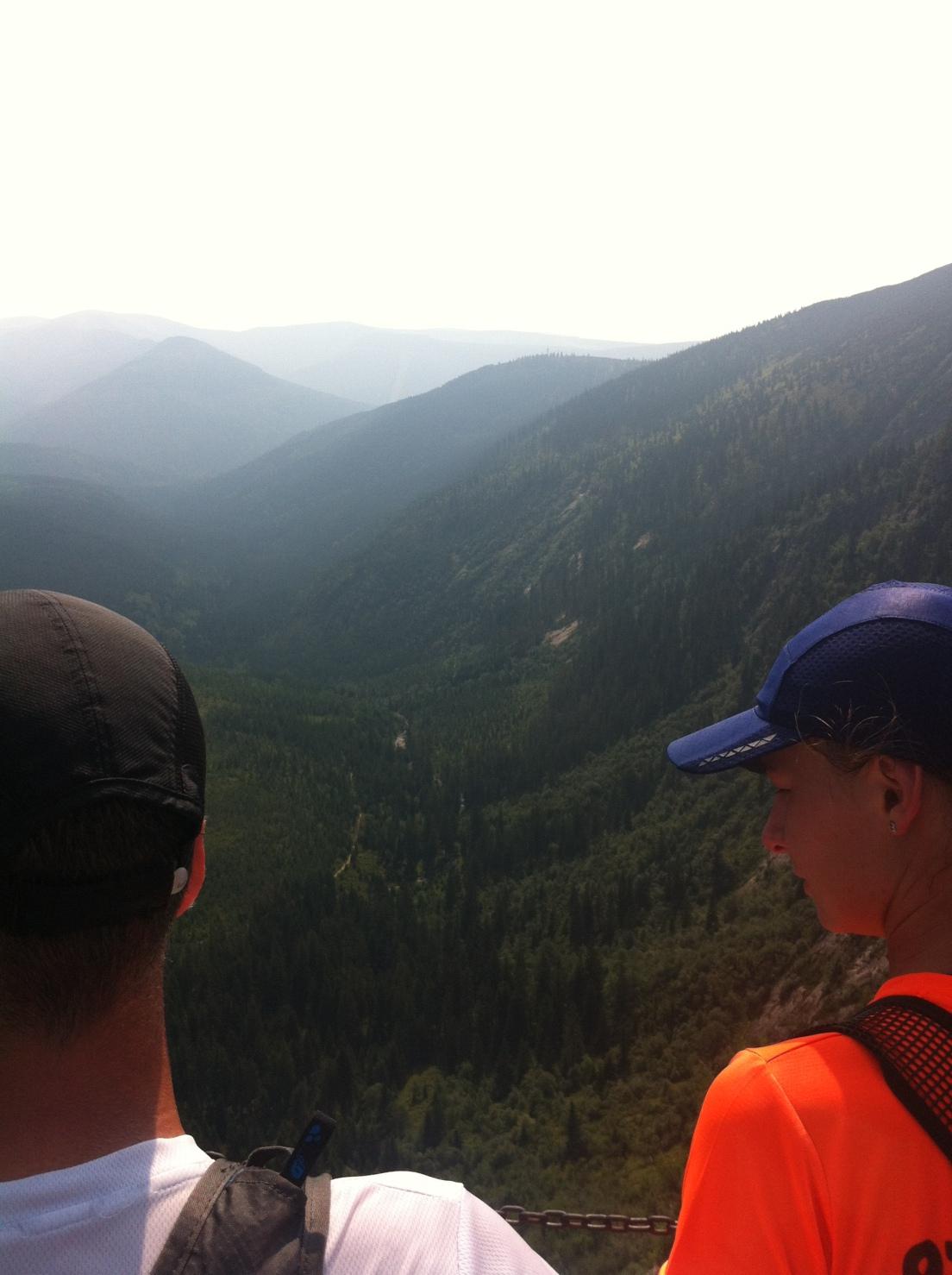 Stunning views in the Czech Republic mountains