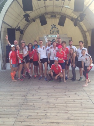 Warsaw International Club winning the 2014 Warsaw Club Challenge